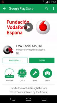 app para gente sin manos