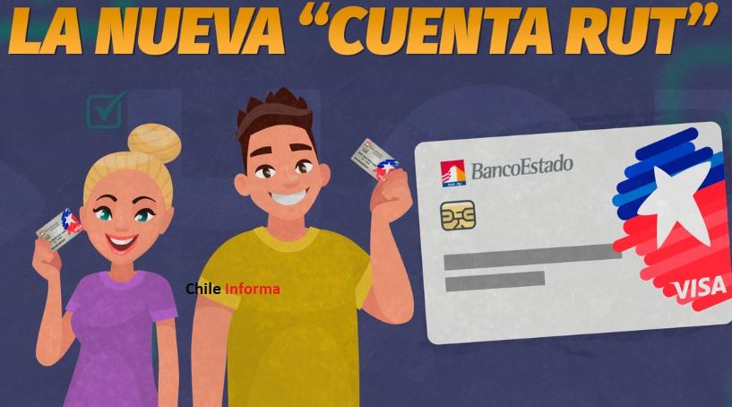 Nueva Cuenta RUT banco estado