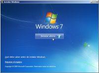 formatear windows 7