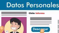 Datos personas en Chile