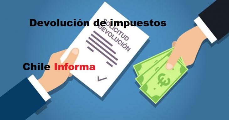 devolución de impuestos