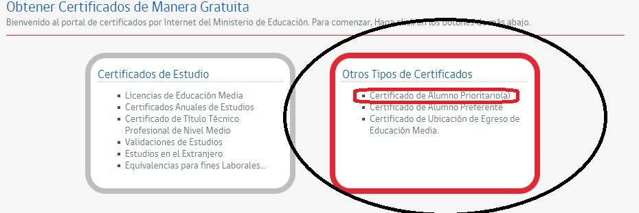 Descargar certificados