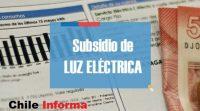 Subsidio de luz eléctrica