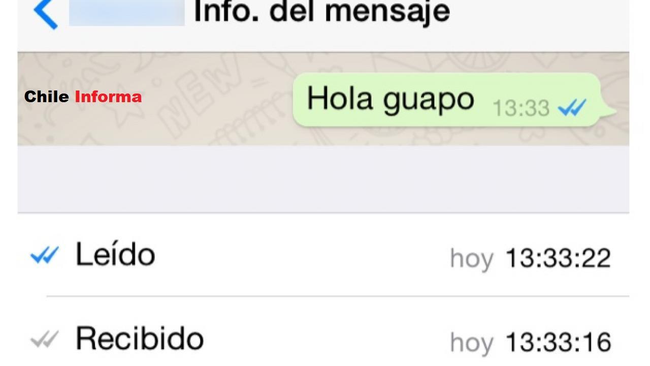 cómo saber si mi mensaje fue leído en whatsapp