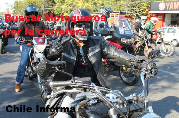 buscar motoqueros por la carretera