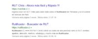 Rutificador Chile