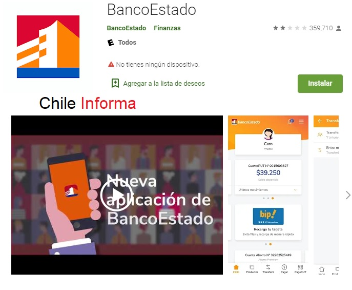 App Banco Estado: Cómo Descargar La Aplicación Del Banco Estado Por Internet