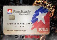 BancoEstado Cuenta rut visa débito