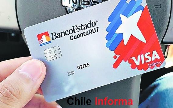 Cuenta rut con visa débito
