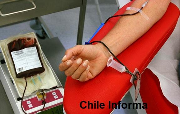 Donar sangre en Chile