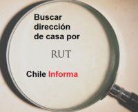 Buscar dirección de casa por RUT