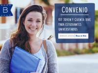 Cuenta bancaria para estudiantes en banco de Chile