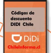Códigos promocionales didi chile
