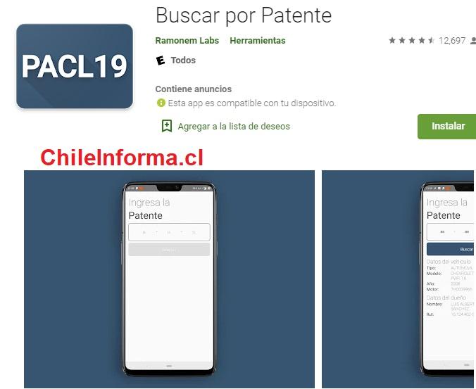 Descargar app de buscar por patente