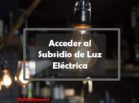 Subsidio de Luz