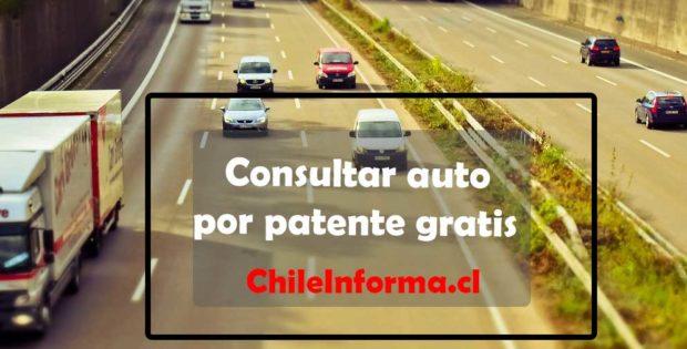 como buscar un auto por su patente