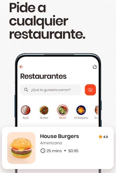 Rappid restaurantes en Chile