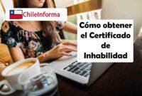 Sacar el certificado de inhabilidad en Chile